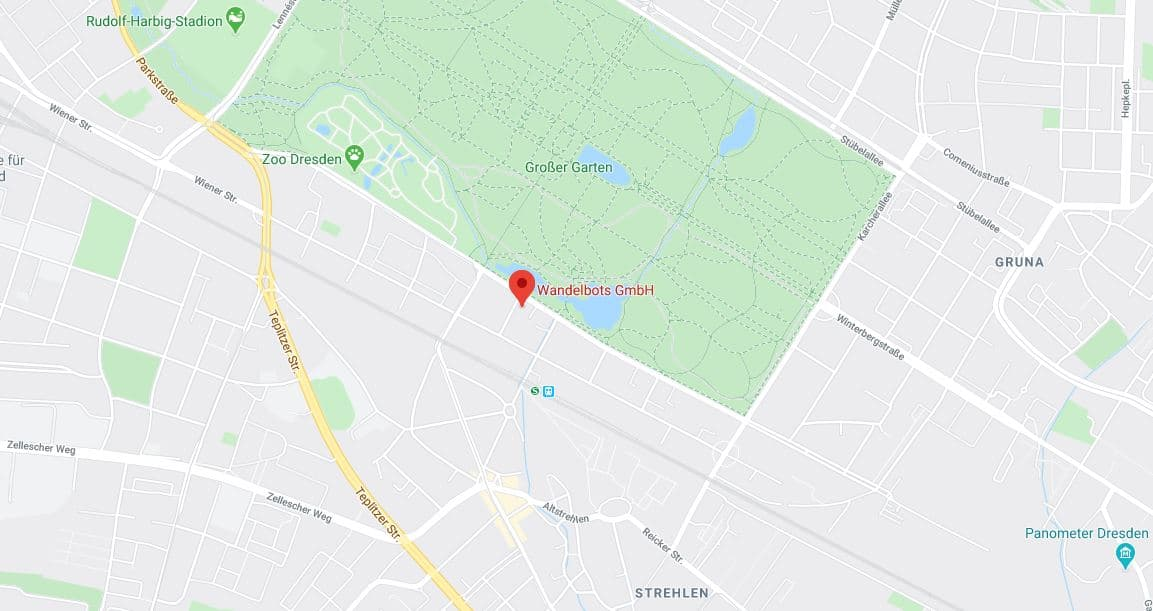Google maps location of Wandelbots headquarter