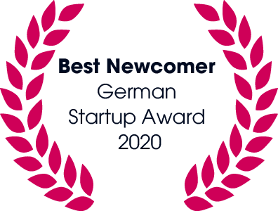 Best Newcomer: German Startup Award 2020