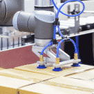 Roboter pick and place application