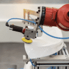 Roboter grinding